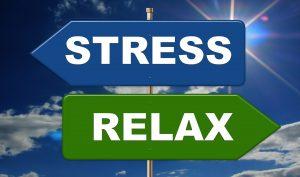 Stresse Bewältigung Strategien. Relaxen.